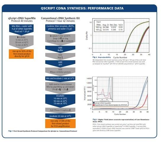 qScript cDNA Synthesis Kit  Gene Target Solutions
