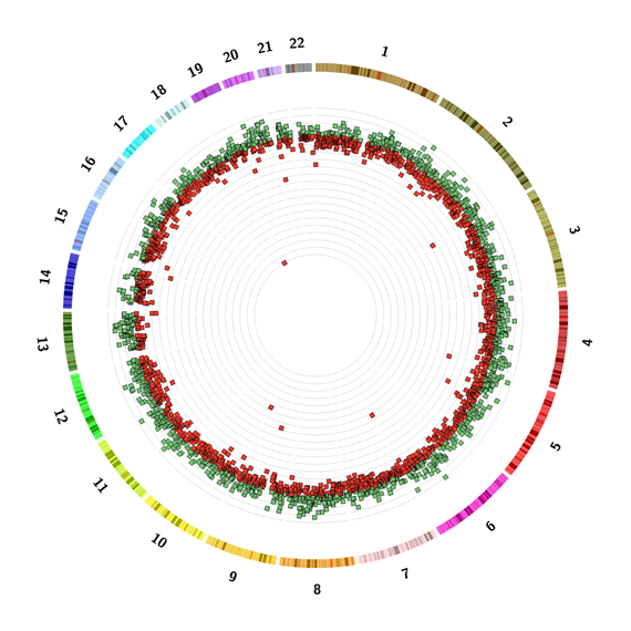 Cancer Sample 8 Circ Plot